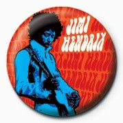 JIMI HENDRIX (BLUE) Badges
