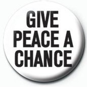 JOHN LENNON - give peace a chance Badge