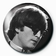 JOHN LENNON - glasses Badge