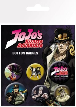 Jojo's Bizarre Adventure - Characters Badge Pack
