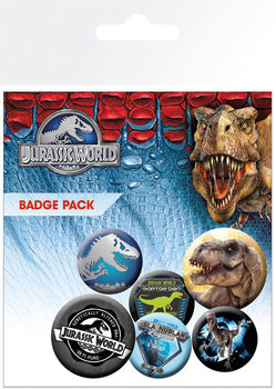 Badge set Jurassic World - Mix