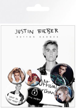 Justin Bieber - Mix 2 Badge Pack