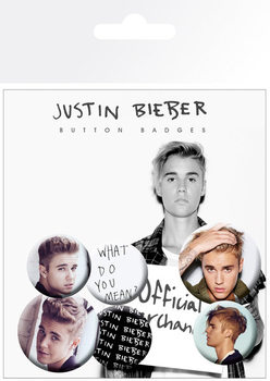 Justin Bieber - Mix 3 Badge Pack