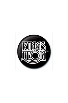 KINGS OF LEON - logo Badge