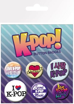 KPOP - Mix Badge Pack