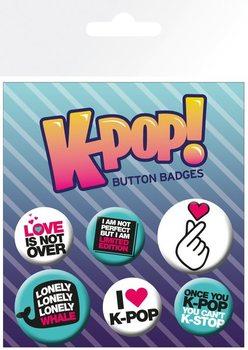 KPOP - Quotes Badge Pack