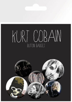 Kurt Cobain Badge Pack