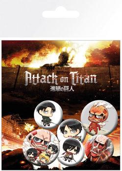 Badges L'Attaque des Titans (Shingeki no kyojin) - Attack