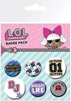 L.O.L. Surprise - Mix Badge Pack