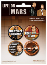 LIFE ON MARS Badge Pack
