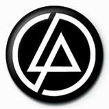 LINKIN PARK - circle logo Badge