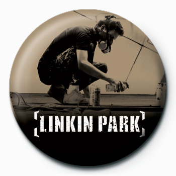 LINKIN PARK - graffiti Badge