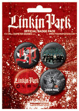LINKIN PARK Badge Pack