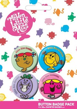 LITTLE MISS Badge Pack