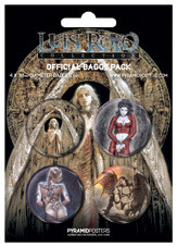 LUIS ROYO Badge Pack