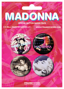 MADONA - Albums Badge Pack
