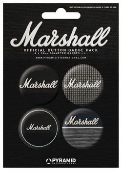 Badges MARSHALL - amps