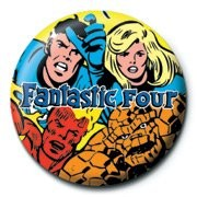 MARVEL - fantastic four Badge