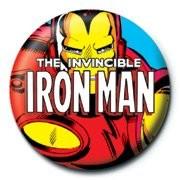 MARVEL - iron man Badge