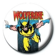 Badge MARVEL - wolverine retro