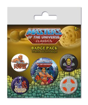 Masters of the Universe - I have the Power Badge Pack