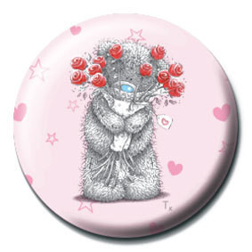 ME TO YOU - flowers Badge