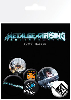 METAL GEAR RISING Badge Pack