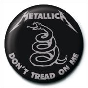 METALLICA - don't tread on me Badges