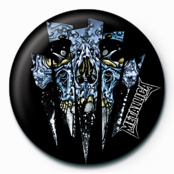 METALLICA - glass Badges