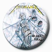 Badge METALLICA - JUSTICE