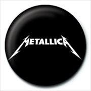 METALLICA - logo Badges