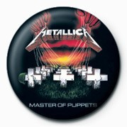 Badge METALLICA - MASTER OF PUPP