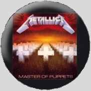METALLICA - master of puppets Badges