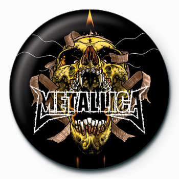 METALLICA - mummy Badges