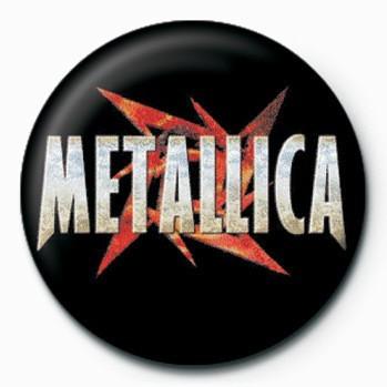 Badge Metallica (Red Star)