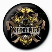Badge METALLICA - SKULL