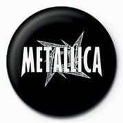 Badge METALLICA - WHITE STAR