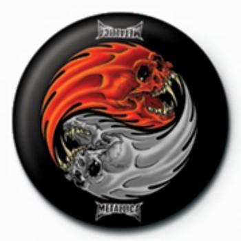 METALLICA - yin yang GB Badge