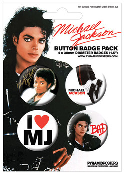 MICHAEL JACKSON - bad Badge Pack