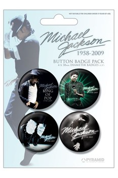 MICHAEL JACKSON - blue Badge Pack