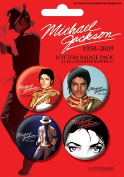 MICHAEL JACKSON - red Badge Pack