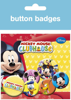 Badge set MICKEY MOUSE