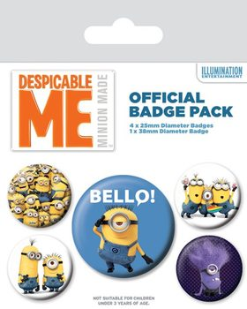 Minions (Despicable Me) - Variety Badge Pack