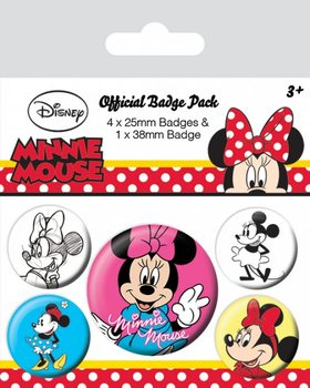 Minnie Mouse - Through The Ages Badge Pack