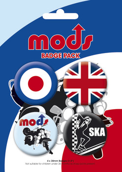 MOD - 2 Badge Pack