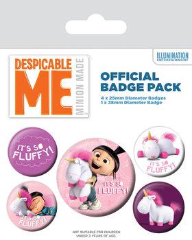 Badges Moi, moche et méchant - It's So Fluffy
