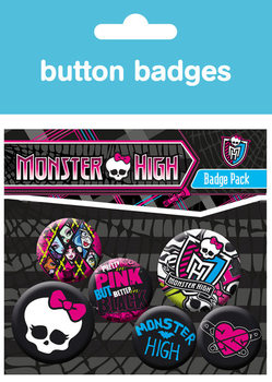 Badge set MONSTER HIGH - graphics