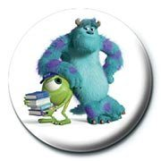 MONSTERS UNIVERSITY - mike & sulley Badge