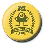 MONSTERS UNIVERSITY - oozma kappa Badges
