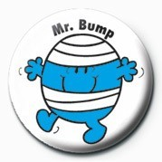 MR MEN (Mr Bump) Badges